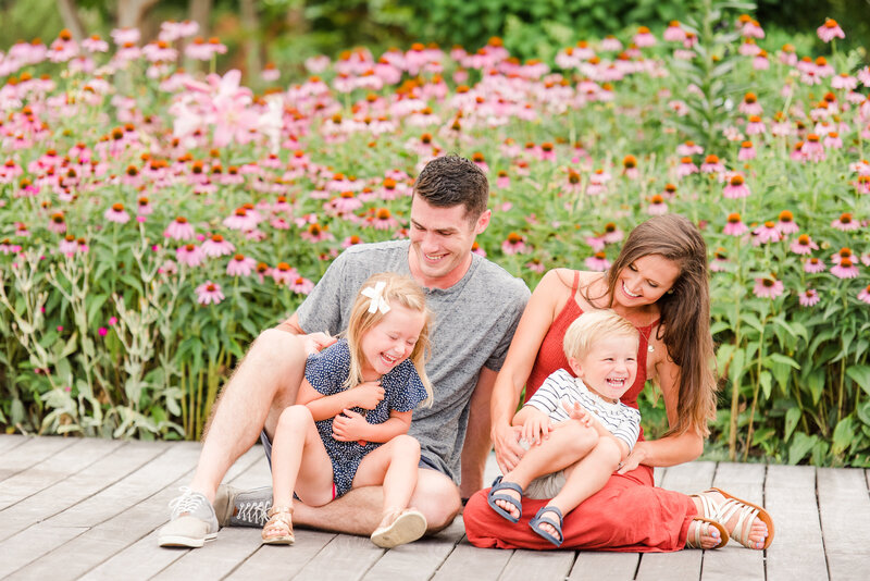 Richmond Summer flower garden family photography-7