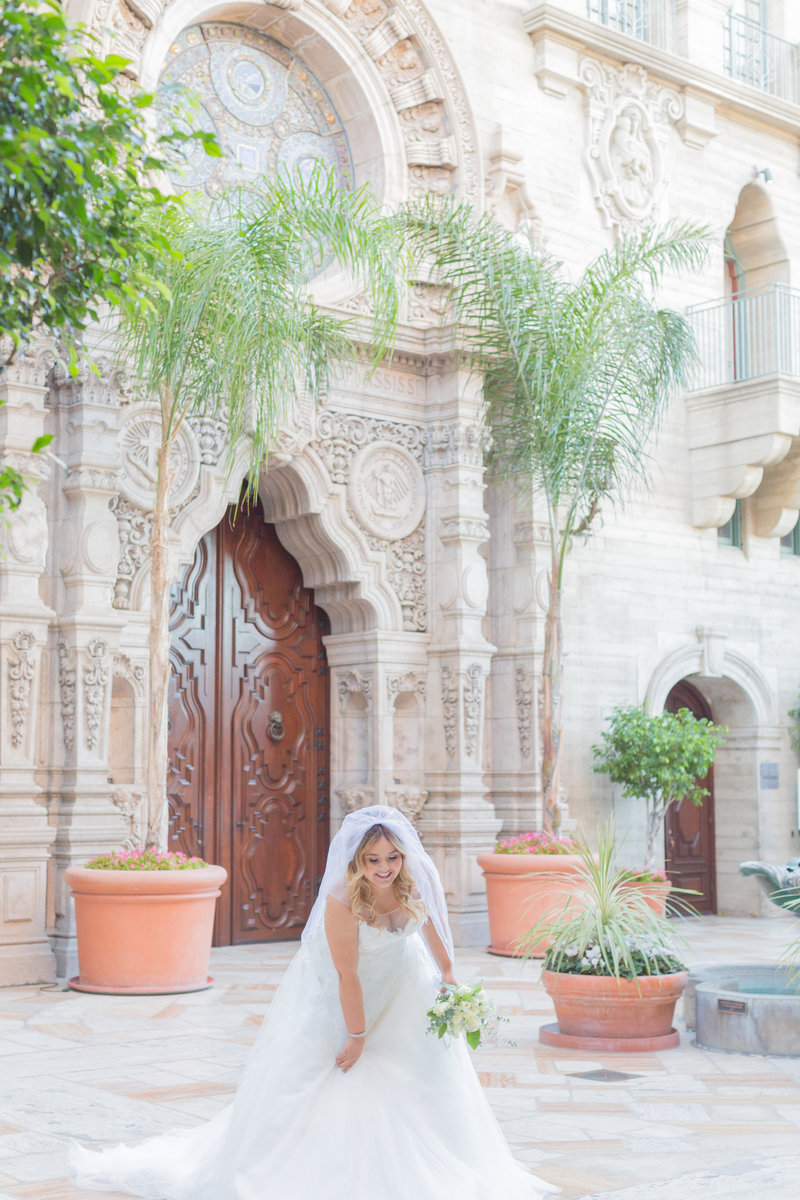 Mission Inn Hotel Wedding Photographer - Bride