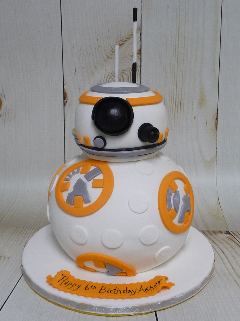 bb8 birthday cake