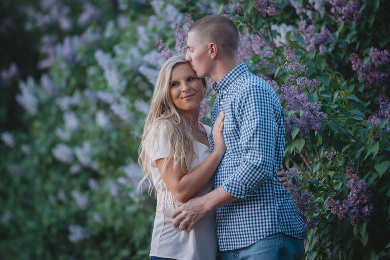 new harmony spring engagement photos indiana