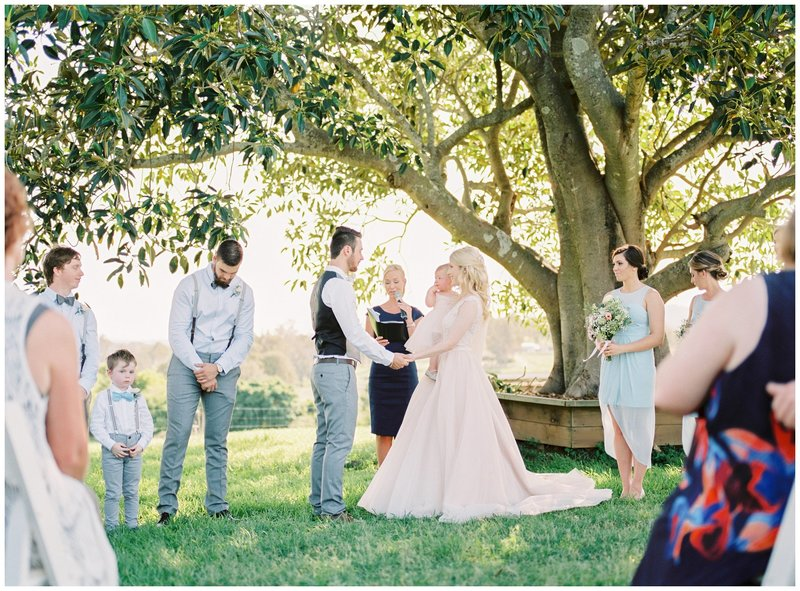 Tegan and Alex Wedding at Albert River Wines by Casey Jane Photography 34