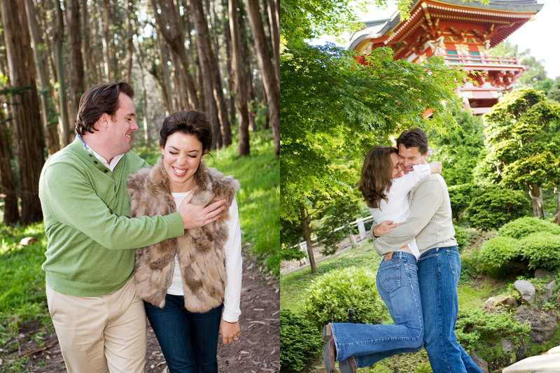 Presidio Engagement Session, Japanese Garden, Engaged, Engagement Photography, Jennifer Baciocco Photography