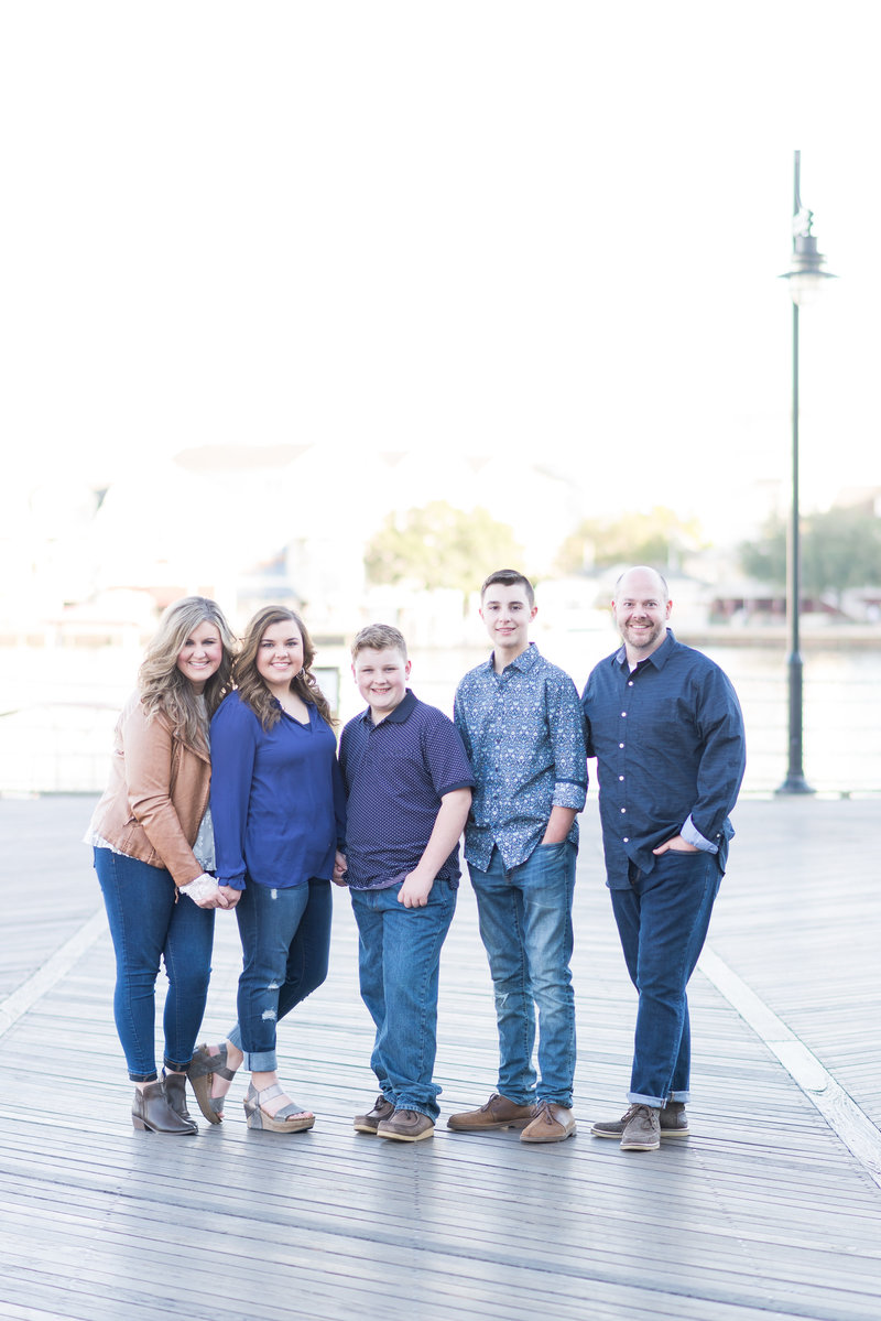 Disney Family Session, Disney Boardwalk Family Session, Disney Family Photographer