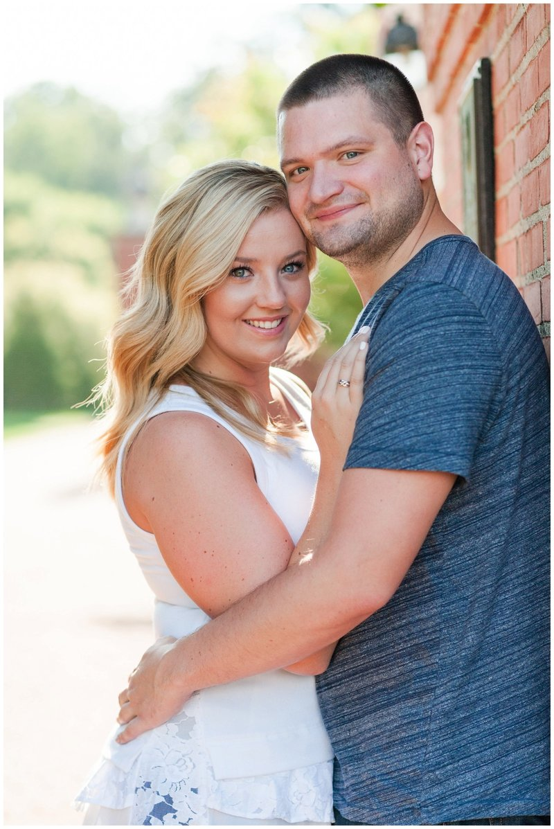 Mansfield Ohio Engagement Session Kingwood Garden Center_0011