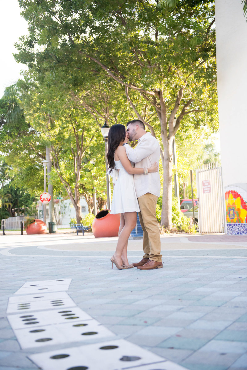 Calle Ocho Cuban Inspired Engagement Session