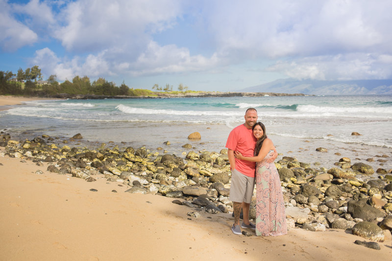 Maui Beach Portrait Location DT Fleming  Beach
