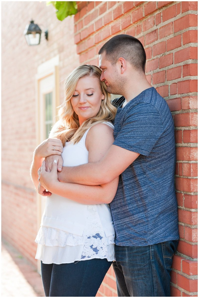 Mansfield Ohio Engagement Session Kingwood Garden Center_0008