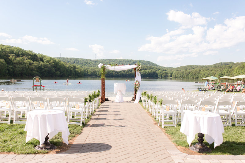Lake Valhalla Club Wedding Ceremony