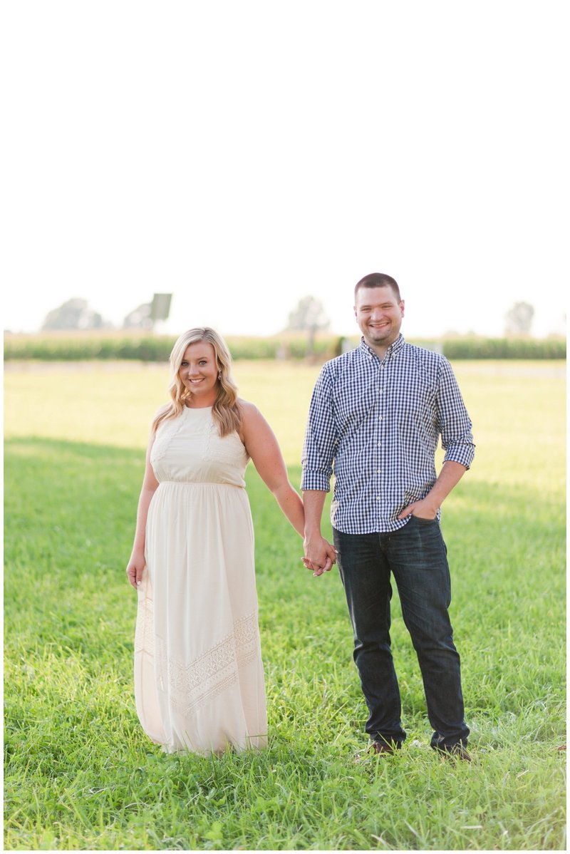 Mansfield Ohio Engagement Session Kingwood Garden Center_0007