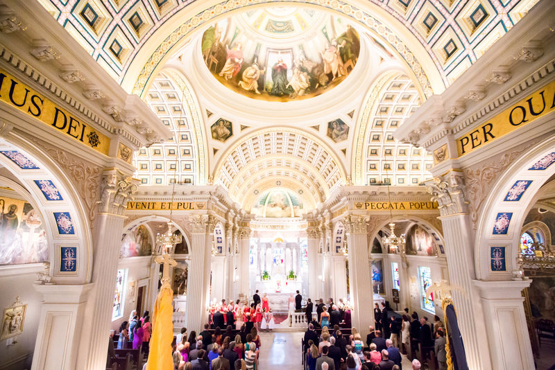 Catholic ceremony at St. Catharine's in Spring Lake