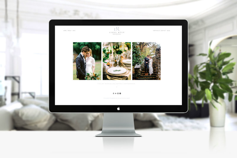 custom squarespace website