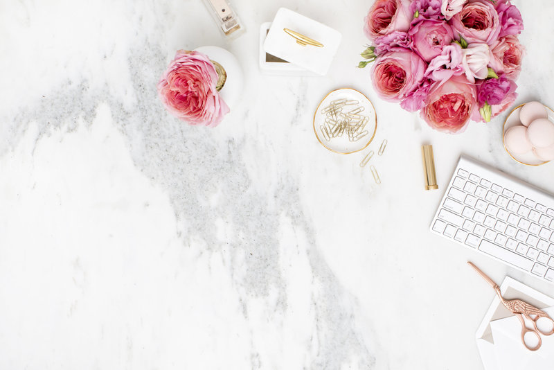 Styled Stock Photography_Shay Cochrane_Pink on Marble_Desktop_M04