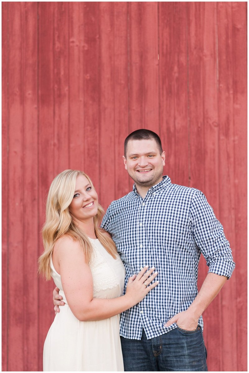 Mansfield Ohio Engagement Session Kingwood Garden Center_0015