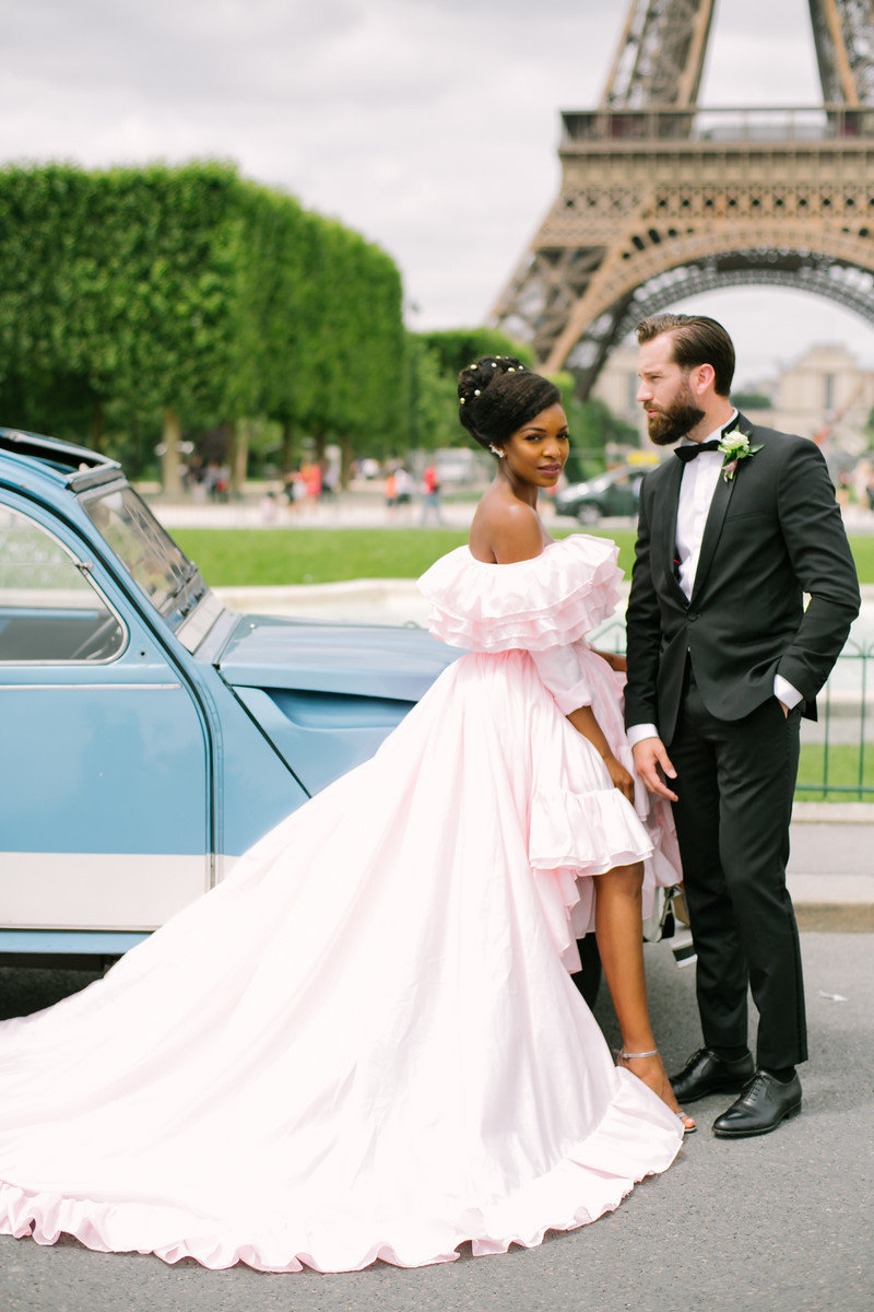 Paris Hair Artist wedding