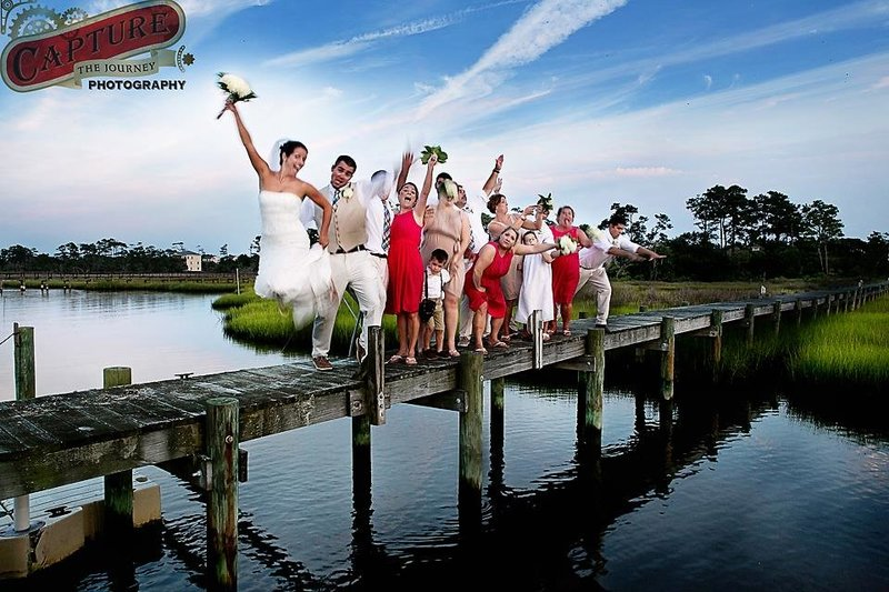 Dock Wedding Party
