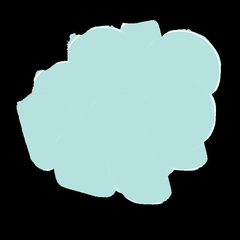 watercolor teal