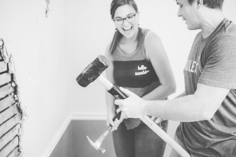 Michael and laura diy home renovation Richmond Virginia