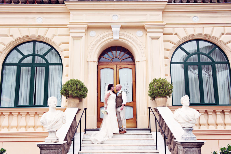 Elopement Wedding Photographer Grand Excelsior Vittoria Sorrento Italy