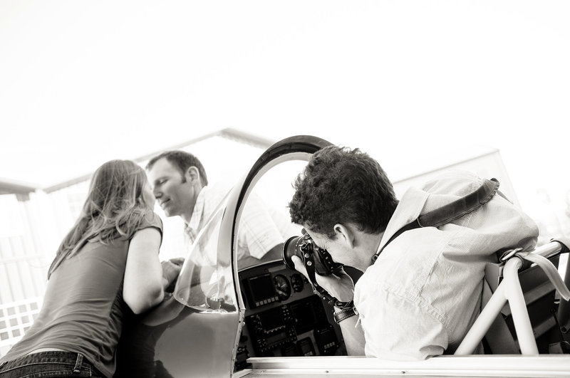Engagement-Shoot-in-Airplane