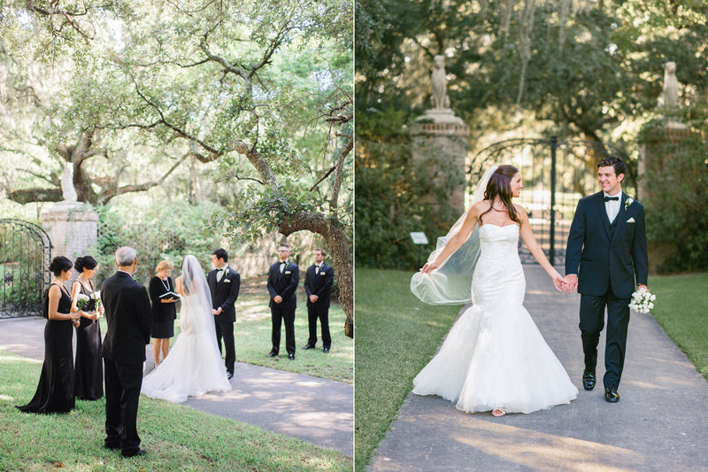 Stunning wedding at Brookgreen Gardens in Murrells Inlet, SC. Brookgreen Gardens Wedding Photography | Garden Weddings | Plantation Wedding Photography | Myrtle Beach | Charleston | Pawleys Island