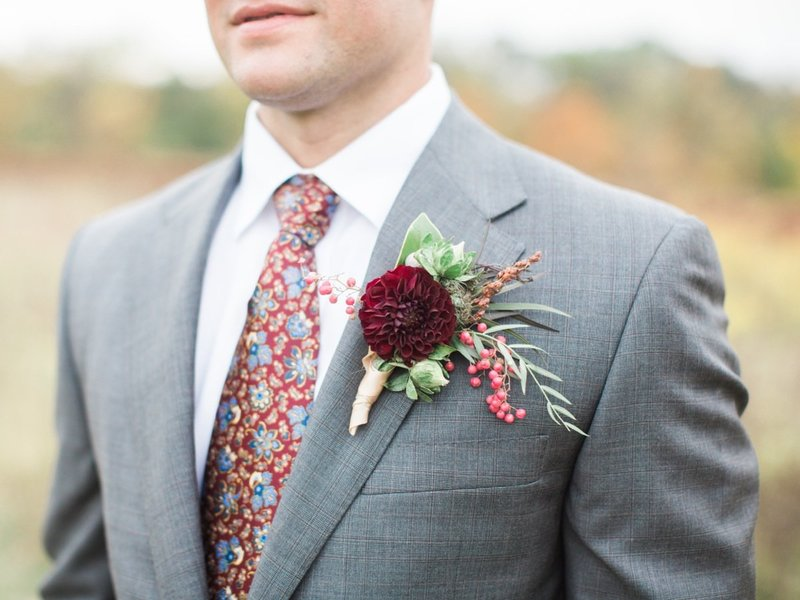 Groom Boutonniere-25