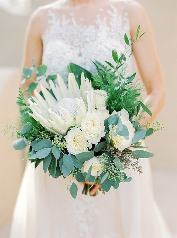 Classic Timeless Wedding Flower Bouquet Dubai