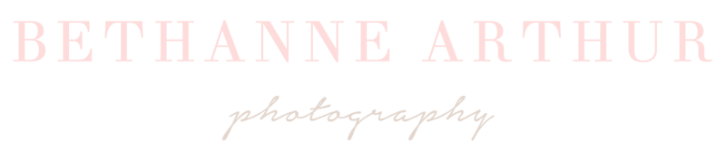 Bethanne Arthur Photography Logo - Main