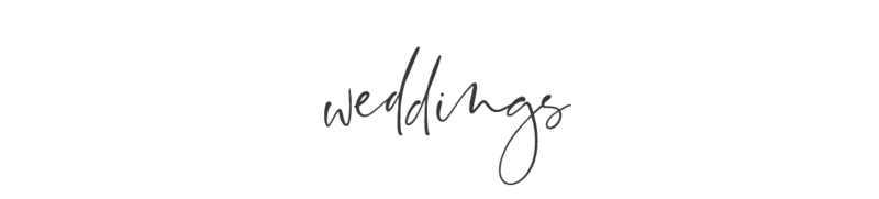 HF Site Words- weddings