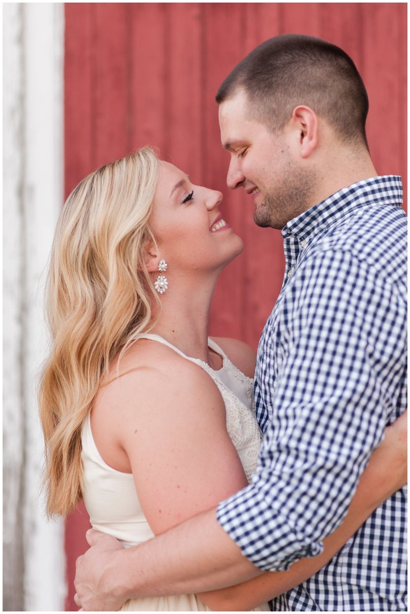 Mansfield Ohio Engagement Session Kingwood Garden Center_0006