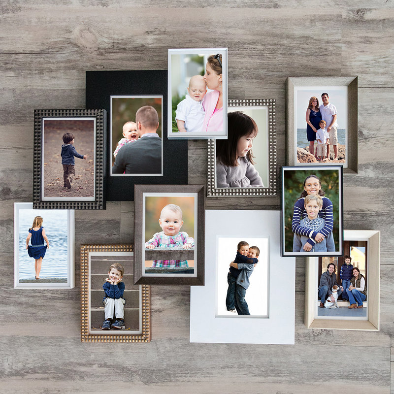 CT photography studio photos displayed in a variety of frames