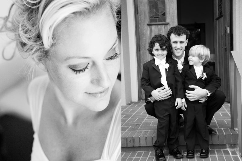 Bride Getting Ready, Groom and Ring Bearers, Jennifer Baciocco Photography