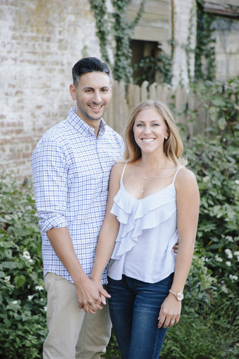 portrait of couple at laurita winery