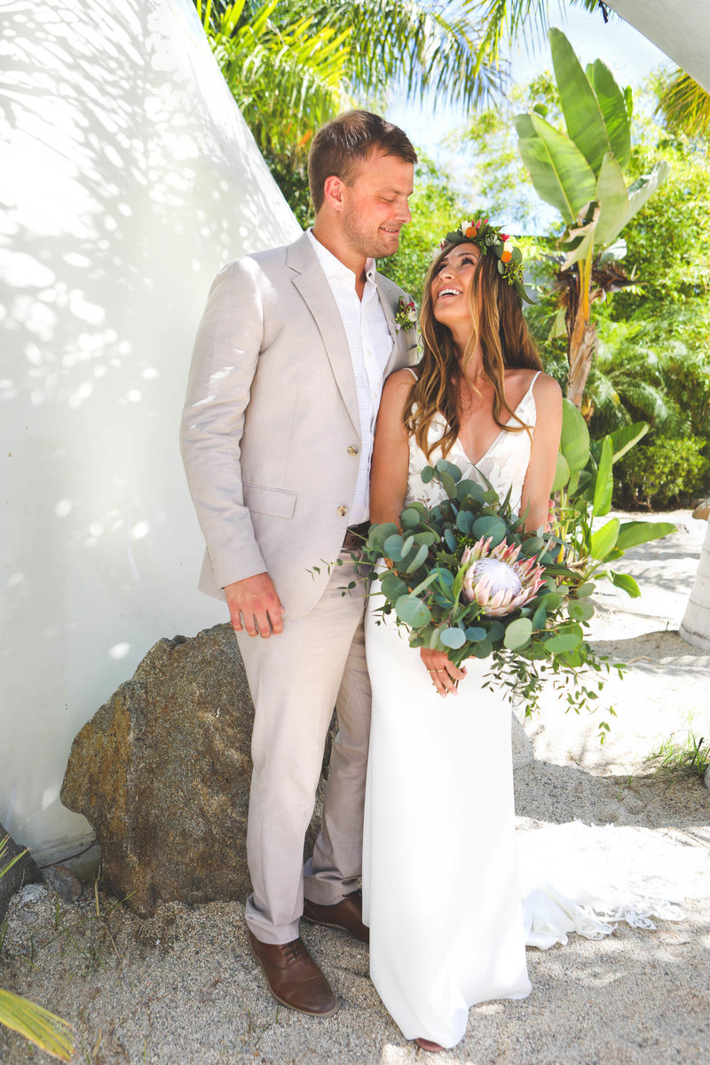 Destination wedding deneffe studios, tropical, boho, mexico wedding, todos santos