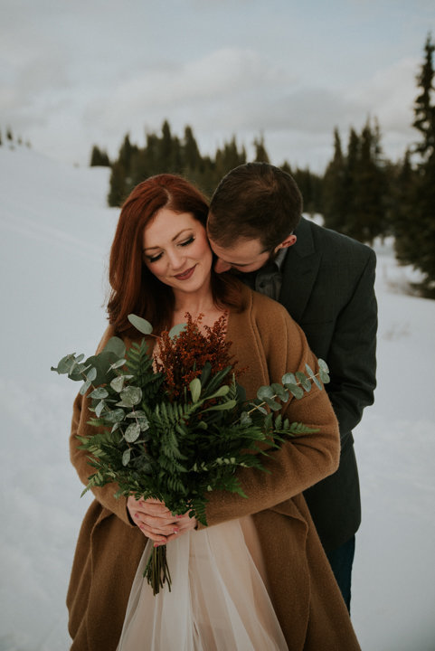 breckenridge elopement photographers, redheaded bride, snowy elopement, destination elopement photographers, colorado elopement, mountain elopement photographer, breckenridge colorado wedding photographers, colorado engagement photographers, destination elopement photographer