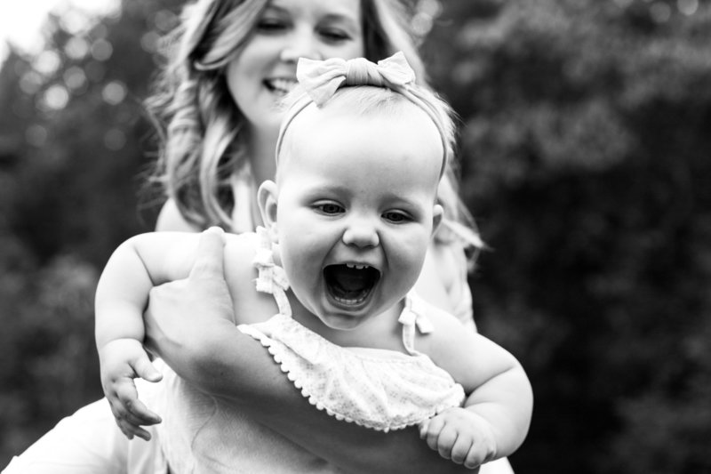 mom and toddler laughing family photography emma lee photography