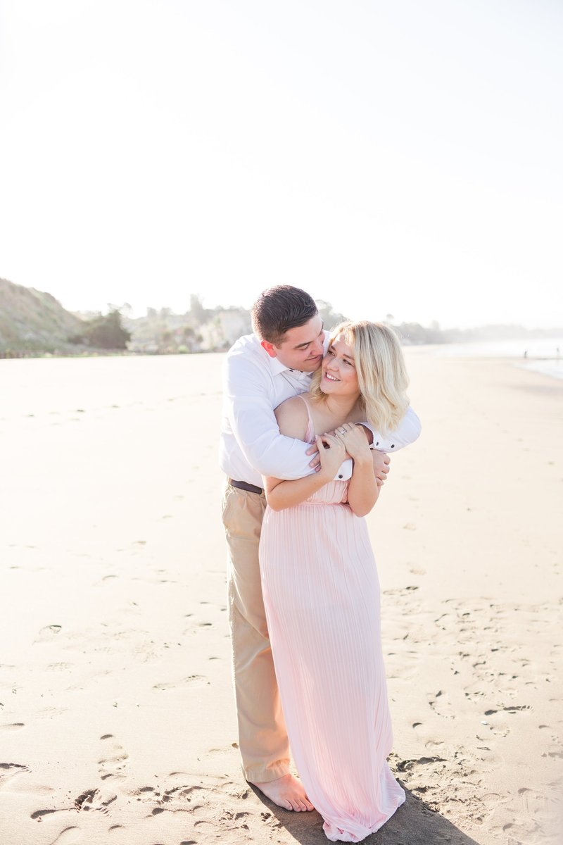 sunrise beach engagement session
