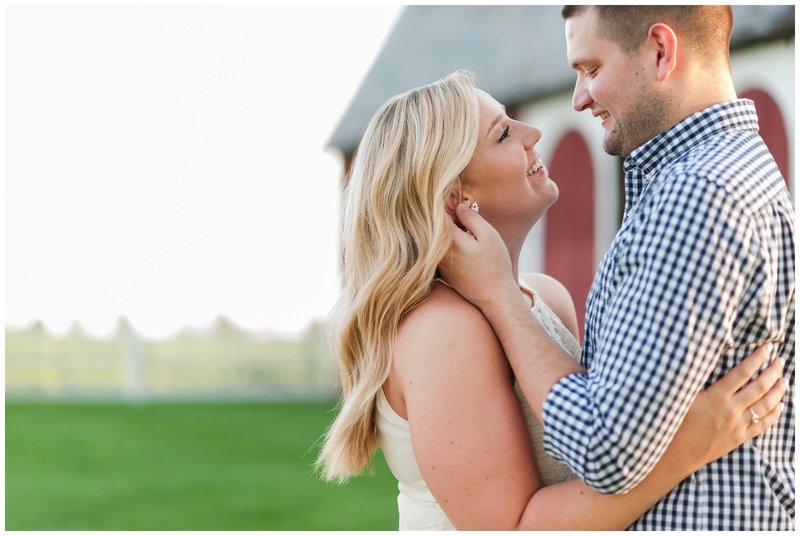 Mansfield Ohio Engagement Session Kingwood Garden Center_0013