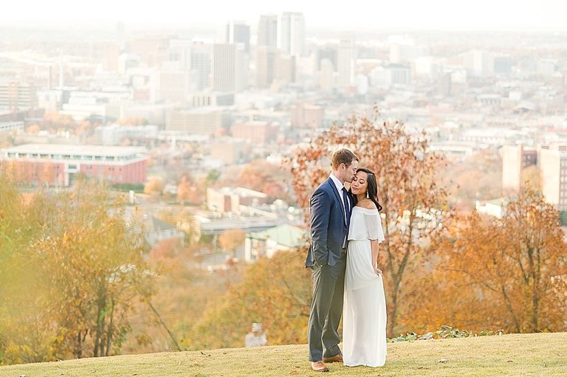 Birmingham Skyline Engagement_0822
