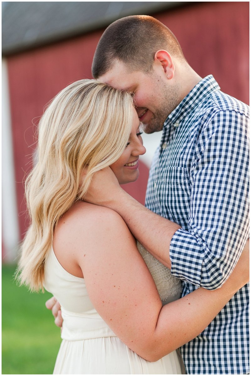 Mansfield Ohio Engagement Session Kingwood Garden Center_0002