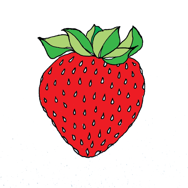 strawberrycolored