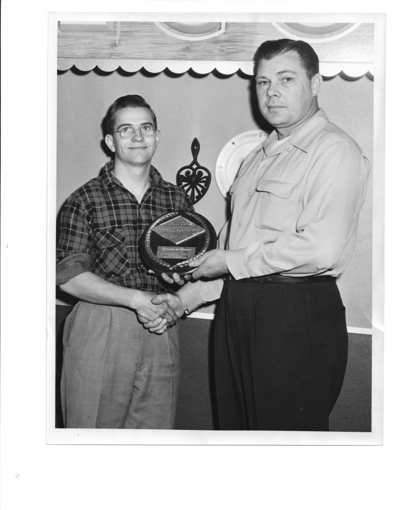 1953 Lonnie Philco award