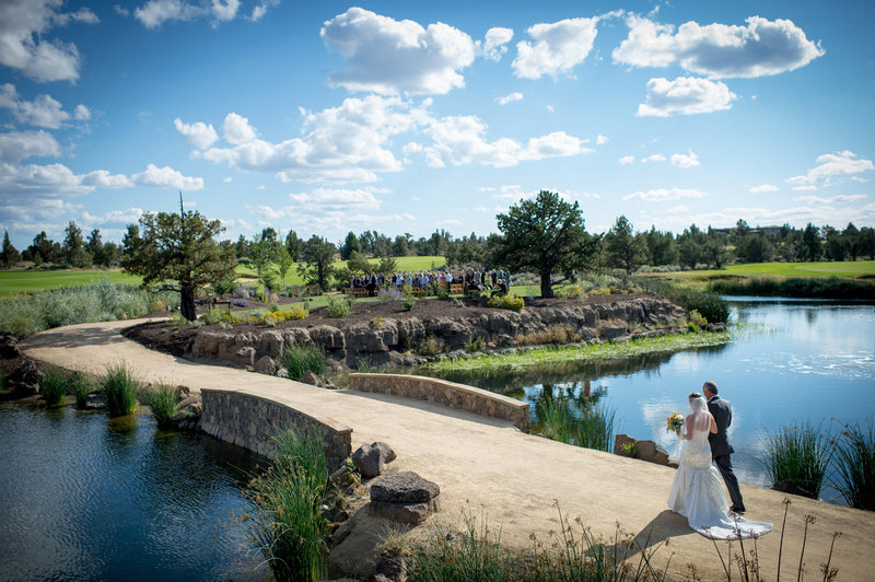 Pronghorn wedding photography by Pete Erickson Photography.