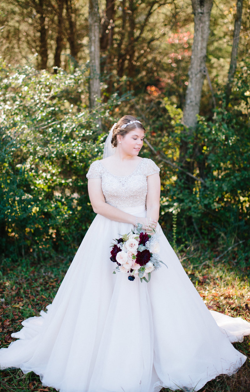 Norfolk Bridal Portrait