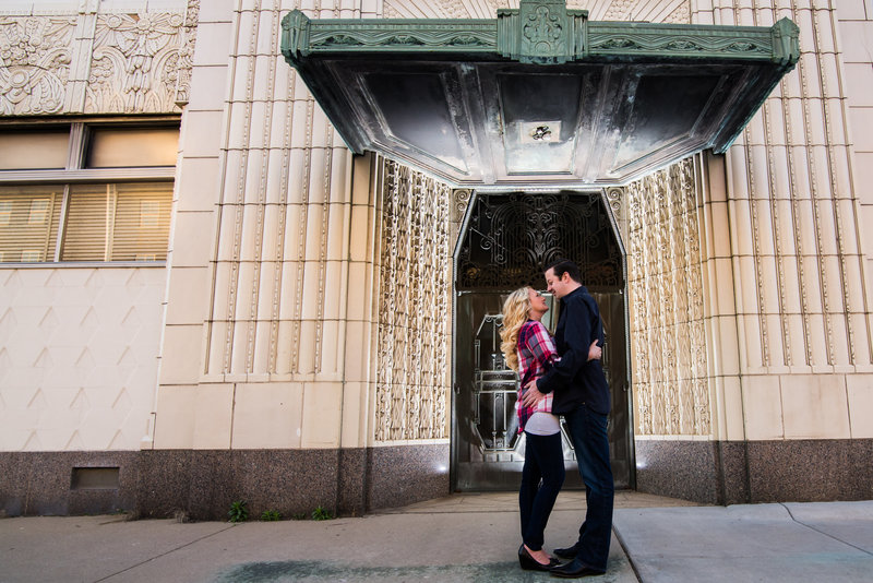 Mass Ave Engagement Photography