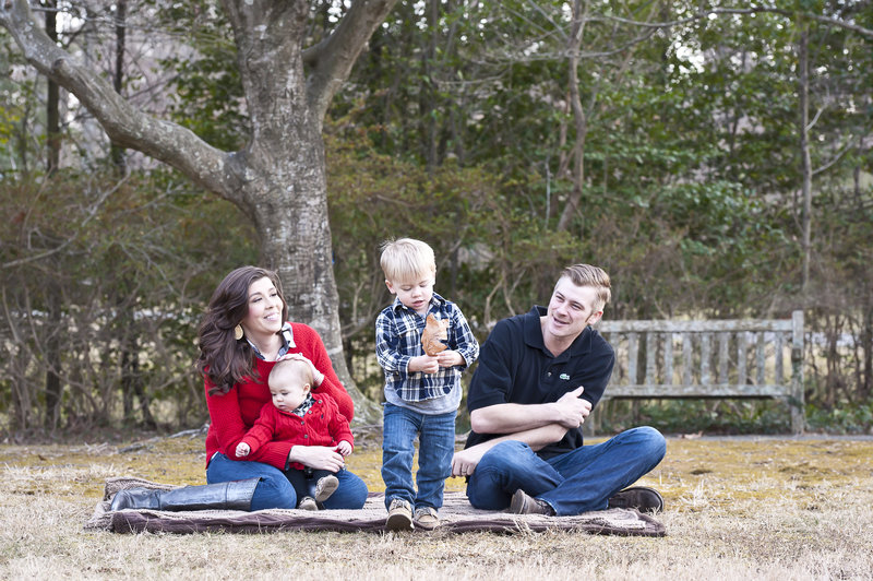 Family at Mariners Museum Park