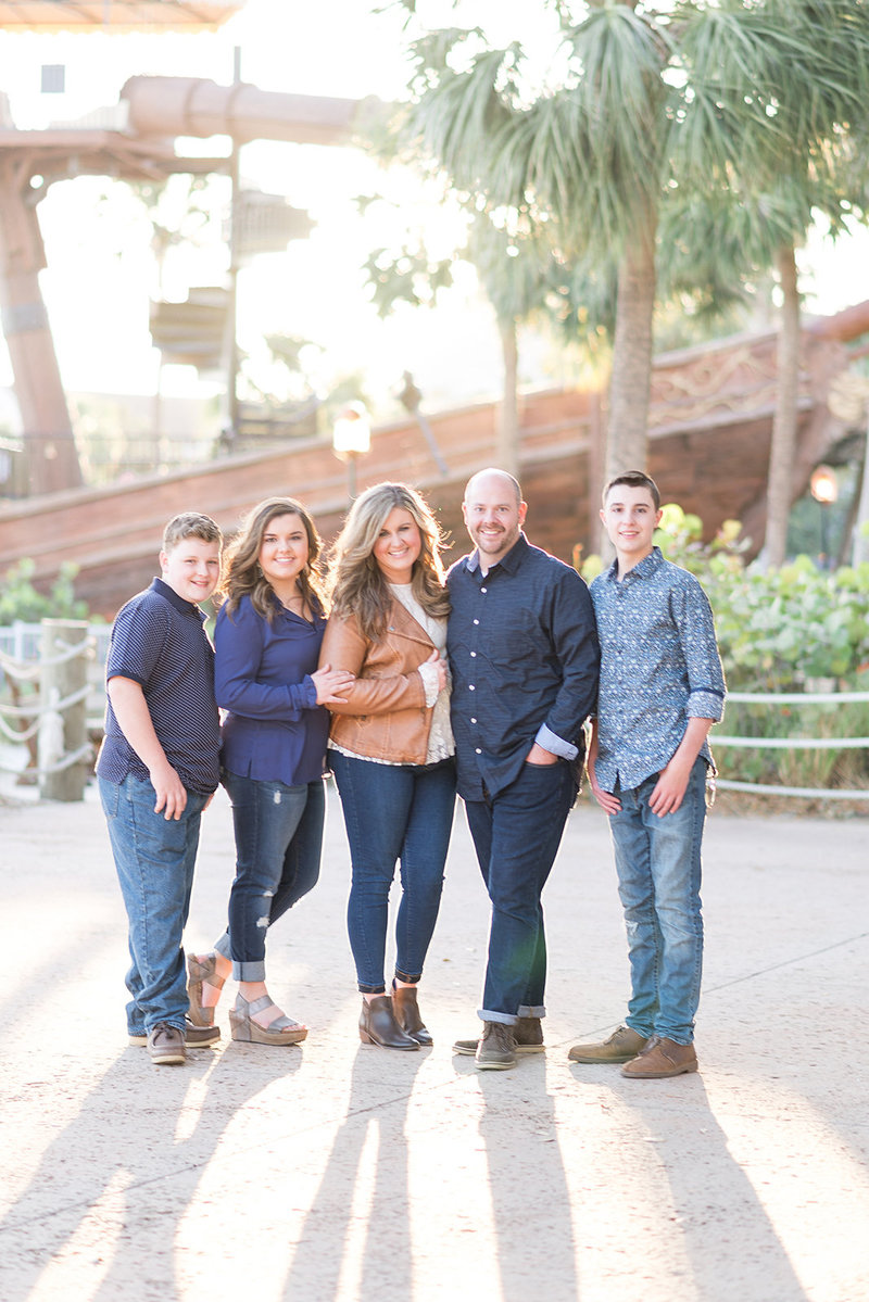 Disney Family Photographer, Disney Family Session