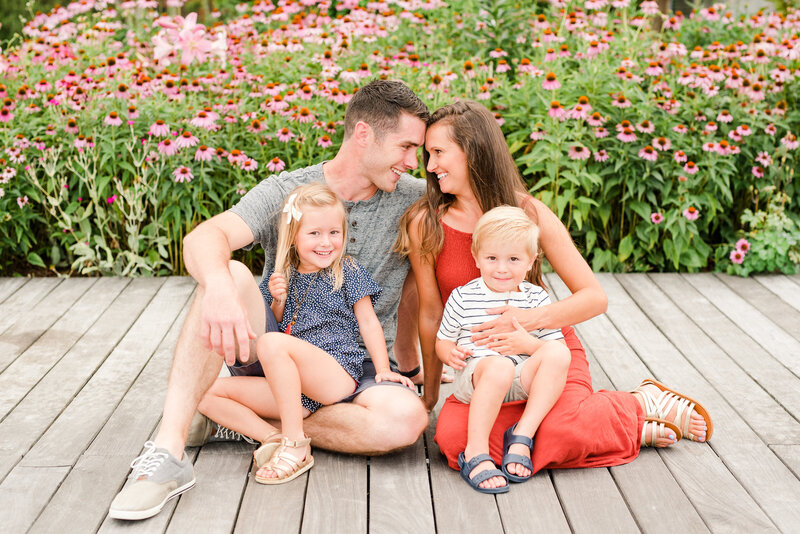 Richmond Summer flower garden family photography-5
