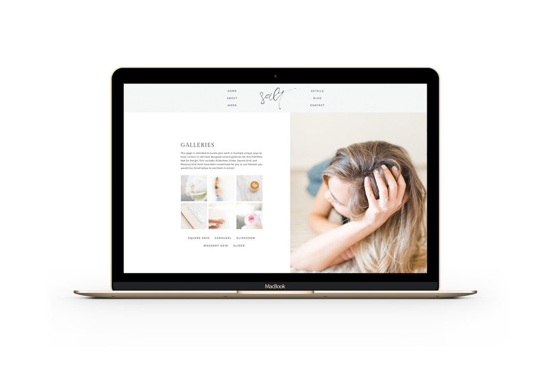 Easy to customize drag and drop Showit and ProPhoto Website templates for photographers