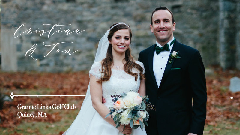 A Cozy South Shore Wedding at Granite Links