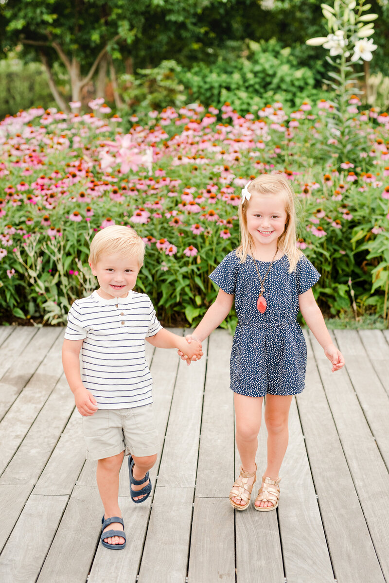 Richmond Summer flower garden family photography-14